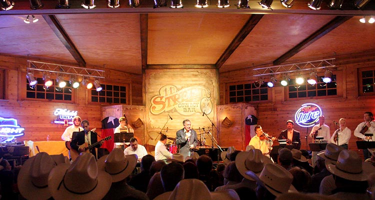 Country Western Music Legend Ray Price performs at the 11th Street Cowboy Bar over Memorial Day Weekend.