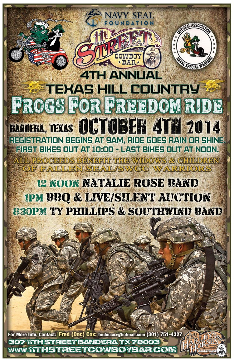 Frogs For Freedom 2014